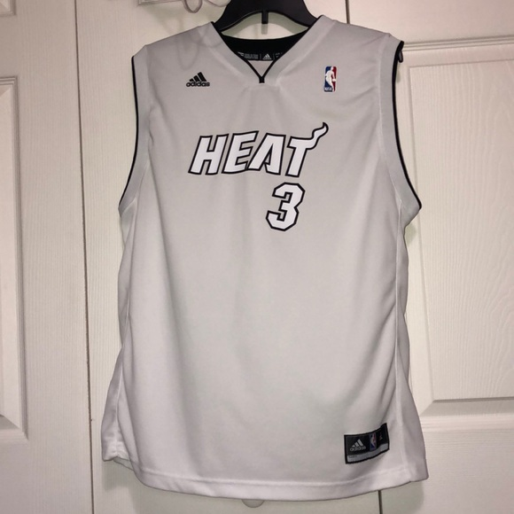 best loved 008d2 13042 NWOT Miami Heat (White Hot) Dwyane Wade Jersey